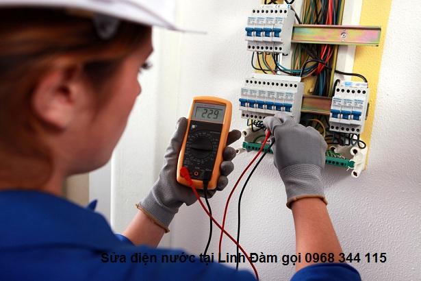 Thợ sửa chữa điện nước tại Linh Đàm gọi 0968 344 115