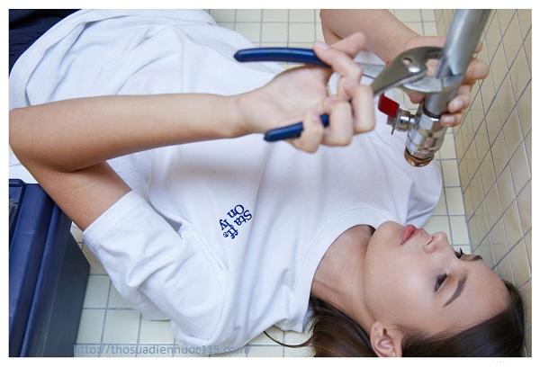 Thợ sửa ống nước tại Tân Mai