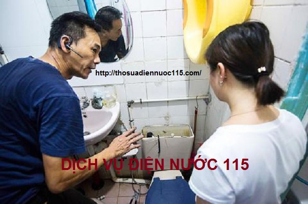 Thợ sửa chữa điện nước ở phường Khương Thượng