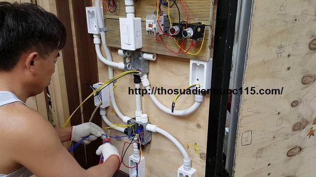 Thợ sửa chữa điện nước khu vực phường Kim Liên