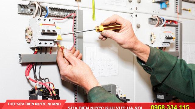 Thợ sửa chữa điện nước tại quận Ba Đình ALO O968-344-115