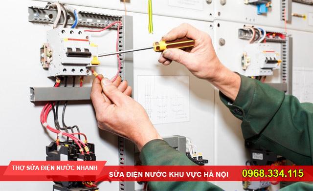 Dịch vụ sửa chữa điện nước ở quận Ba Đình